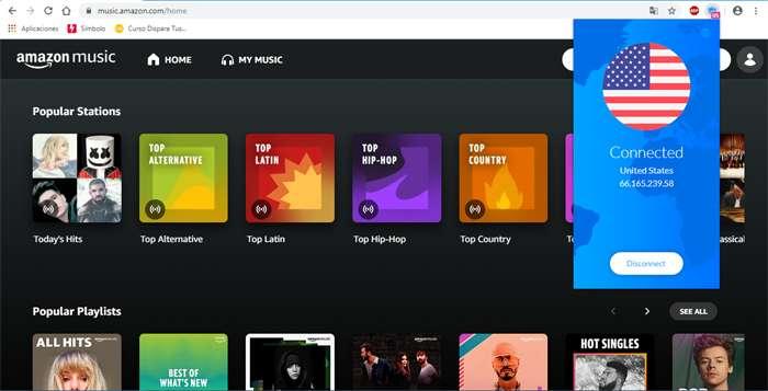 Disfrutar de Amazon Music Gratis
