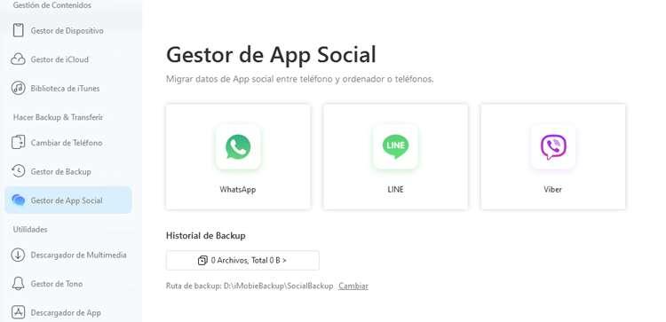 Respaldar mensajes de Whatsapp con Anytrans para iOs