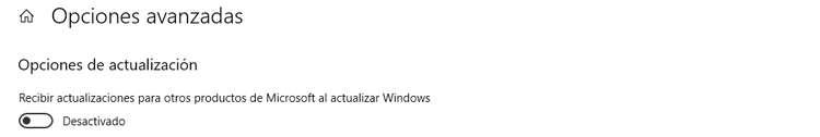 Desactivar las actualizaciones automáticas en Windows 10