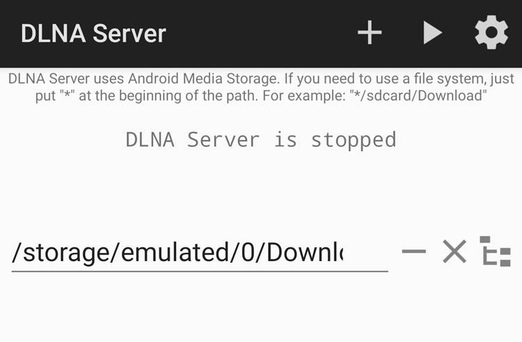 DLNAServer Android