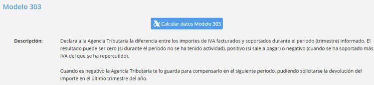 botón para calcular el IVA online