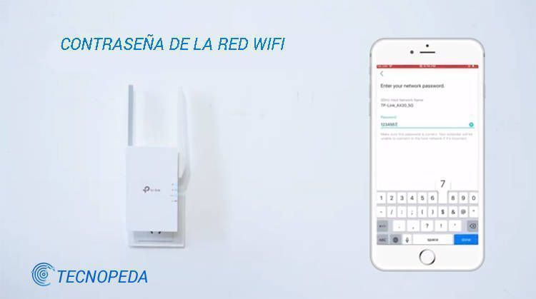 Imagen que muestra como se conecta a una wifi el tp-link extender