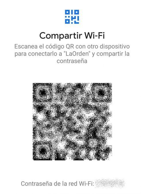 Compartir WI-Fi en Android
