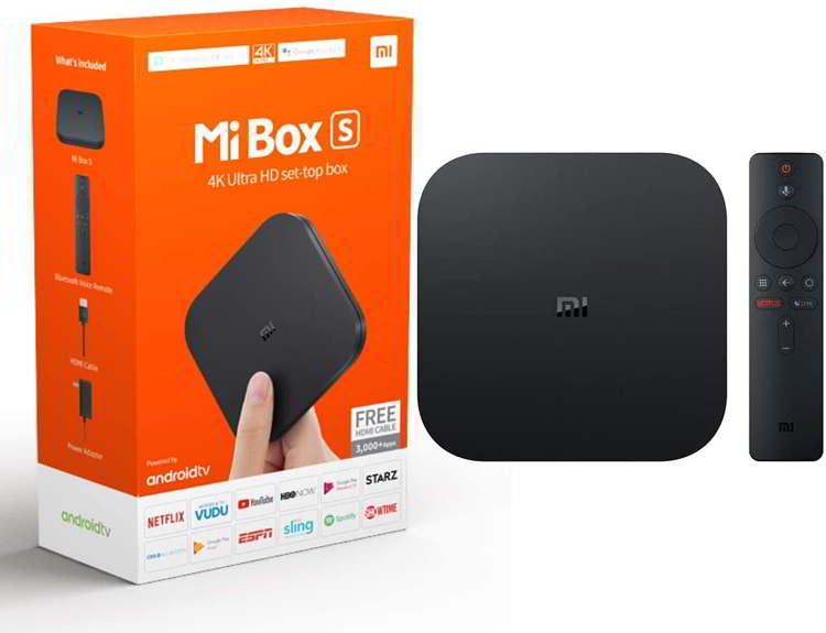 Contenido del Mi Box S en antecesor del Xiaomi Mi Tv Stick