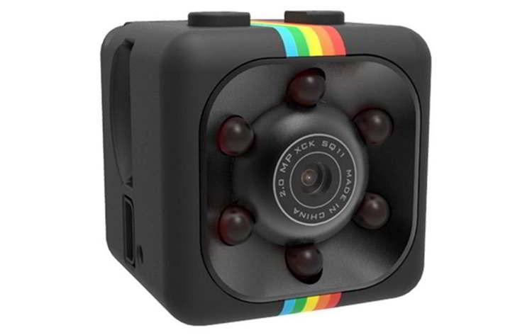 Mini cámara espía de seguridad con led para grabación nocturna