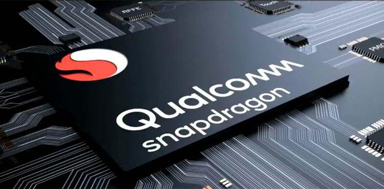 Imagen de un procesador Qualcomm Snapdragon de un móvil