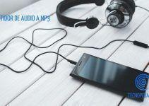 Convertidor de Audio a Mp3 sin Programas