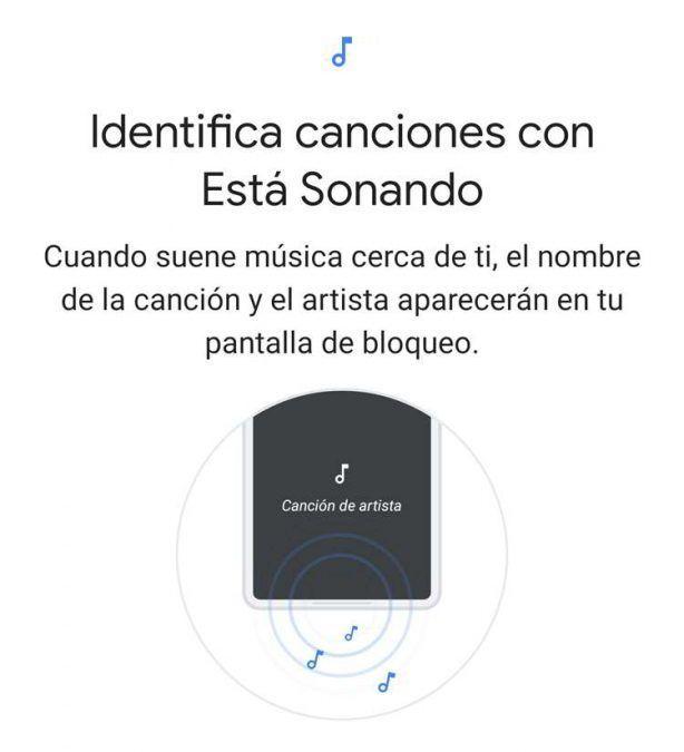 Identificar canciones con está sonando en Android