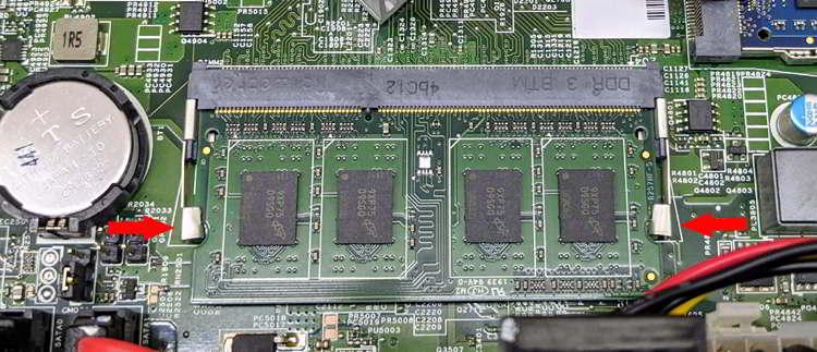 Memoria RAM Conectada