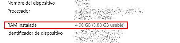 Ampliar la memoria RAM instalada en el ordenador