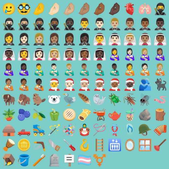 117 Nuevos Emojis en Android 11