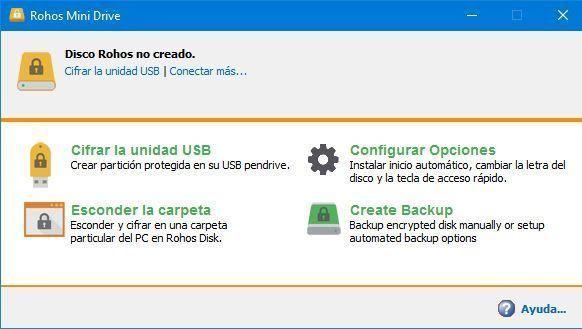 Utilizar Rohos Mini Drive para encriptar un USB