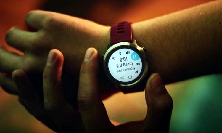smartwatch garmin con Spotity para escuchar tu música lejos de casa