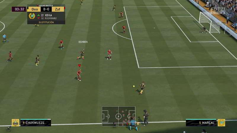 Cámara Grua, la mejor cámara para jugar el Fifa 21