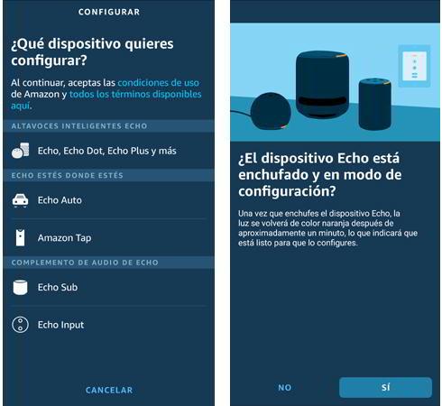 Conectar el Amazon Alexa Echo Dot
