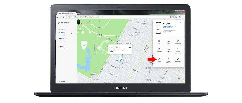 recuperar el pin para desbloquear un móvil Samsung
