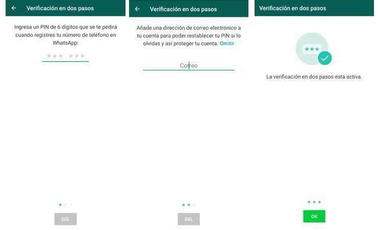 Asistente de seguridad en Whatsapp