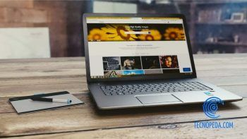 Web abierta en un portátil