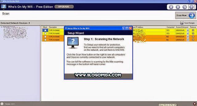 escanear la red en busca de intrusos