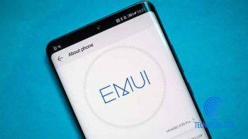 Móvil Huawei con EMUI