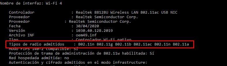 adaptador usb compatble con wifi 5g