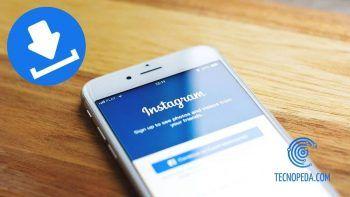 Móvil con la app de Instagram Abierta