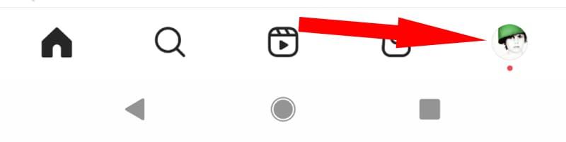 entra en el perfil para eliminar una cuenta de instagram