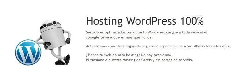 Webempresa de los mejores hosting wordpress