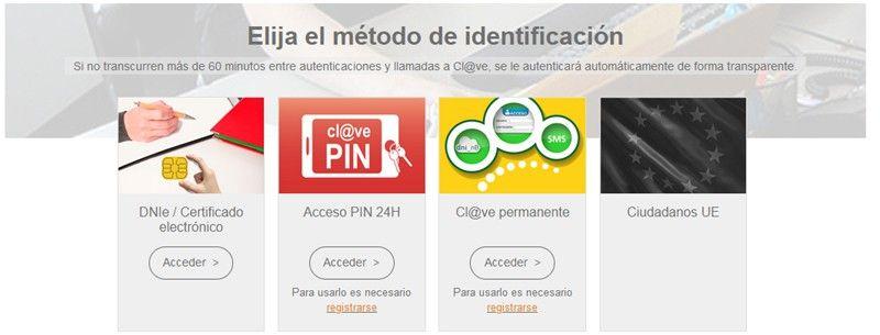 identificación clave pin