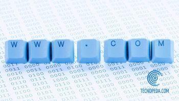 Teclas de ordenador formado palabras
