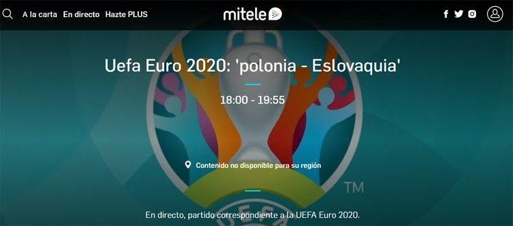 ver la eurocopa 2021 gratis por internet
