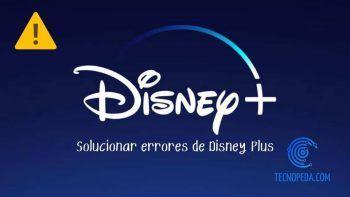 Logotipo de Disney+ que indica error