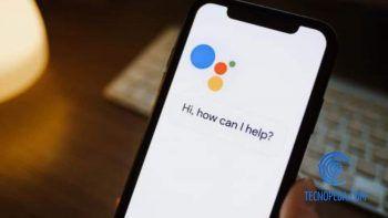 Asistente de Google en un móvil