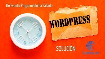 Reloj programado en wordpress