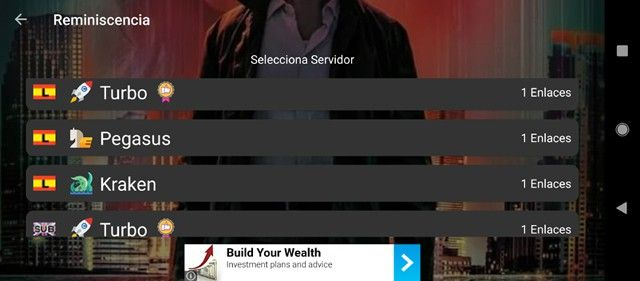enlaces para ver películas en film app