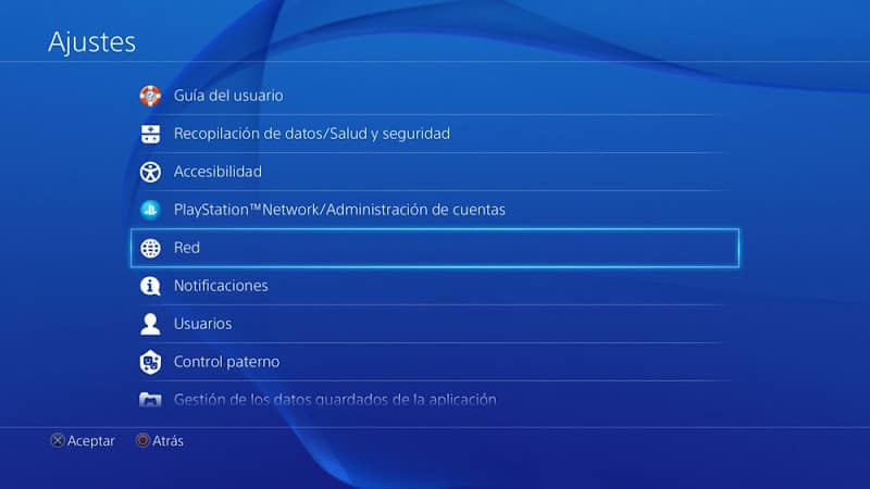 Ajustes para poner una ip fija en la PS4
