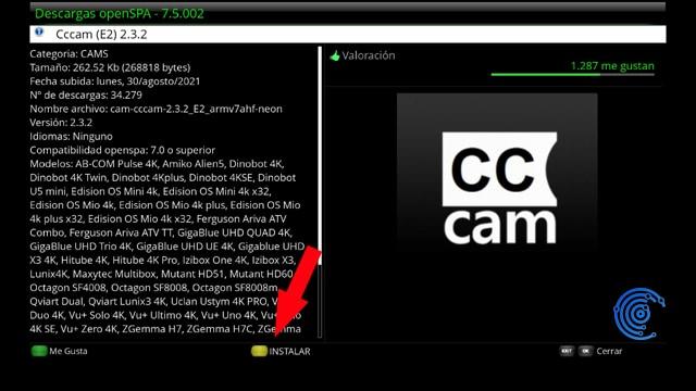 instalar cccam en openspa