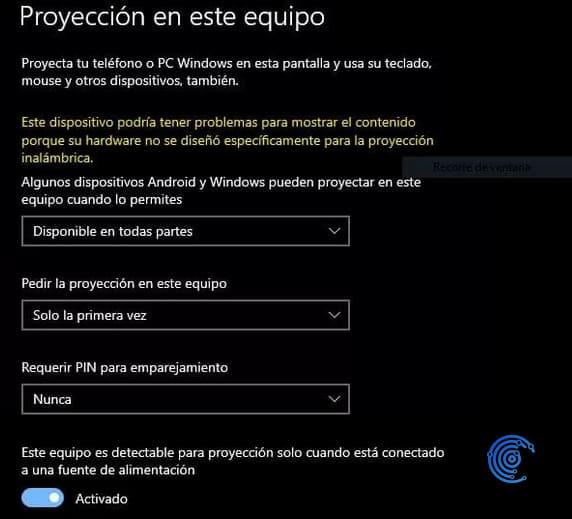compartir la pantalla de windows 10