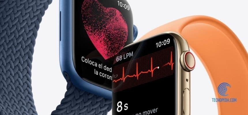 nuevas app y sensores de salud del Apple Watch Serie 7