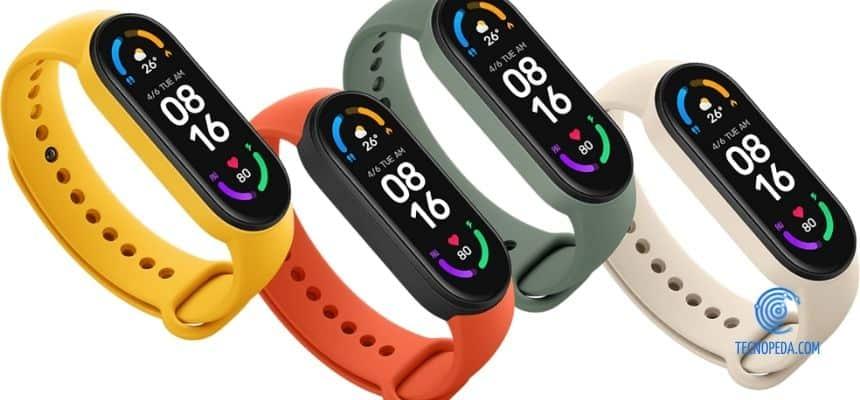 Reloj inteligente Mi Band 6 de Xiaomi