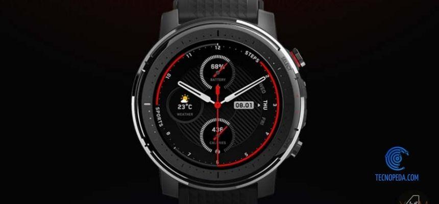 Amazfit Stratos 3 el smart watch de Xiaomi