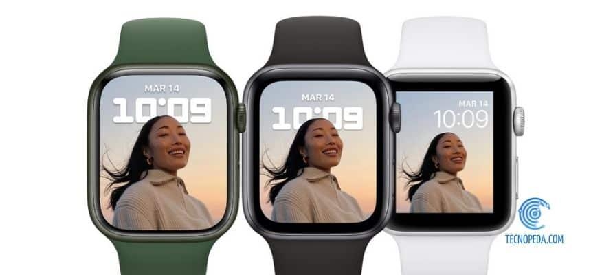 pantalla retina del apple watch más grande y brillante