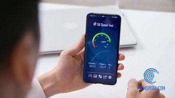 Test de velocidad desde el móvil